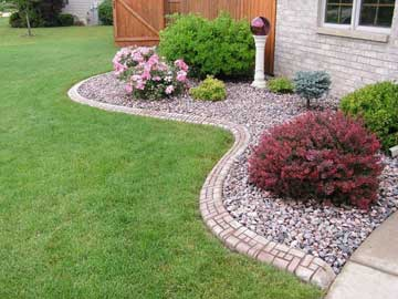 Landscape Curbing And Concrete Edging Installation Services From Odenthal Landscaping